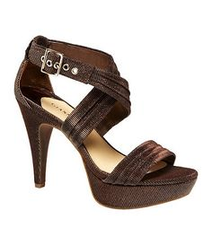 My shoes I'm wearing for my brothers Wedding....Available at Dillards.com