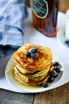 Coconut Flour Pancakes. I have so many pancake recipes, because I love having something sweet for breakfast.