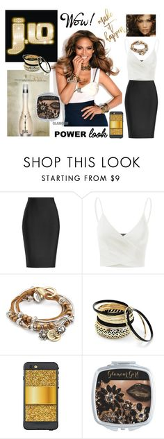 """""""Beautiful J.LO Power Look!"""" by personaleffects ❤ liked on Polyvore featuring Jennifer Lopez, JLo by Jennifer Lopez, Roland Mouret, Doublju, Lizzy James, Venus and LifeProof"""