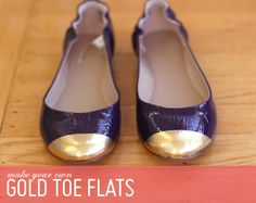 5 diy shoe projects