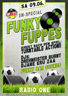 09.06.: LAST MINUTE INFO: Funky Fuppes ( @Radio One) | CologneHipHop