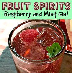 Raspberry and Mint Gin - Tiltle