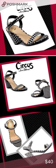 aaf7e36ee875 NIB Sam Edelman Circus Esther heeled sandal BNIB Sam Edelman Circus