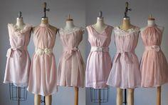 mismatched bridesmaid dresses / Dress / Bridesmaid / Romantic /  tan /lace /blush  / Fairy / Dreamy / Bridesmaid / Party / wedding / Brideizaan bridesmaid