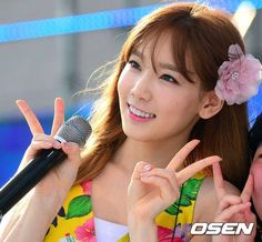 taetiseo blue one kpop festival Sooyoung, Yoona, Snsd, Dream Concert, Kim Tae Yeon, Girls Generation, Celebs, Kpop, Cute