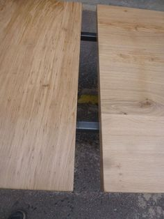 b0bca66e013419 Table industrielle pieds X en fer et plateau chêne à rallonges (2200 euros)  –