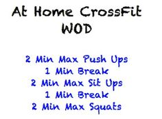 The Wholesome Heart : At Home CrossFit Workouts!