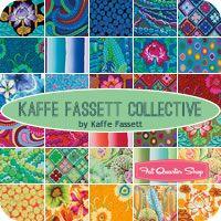 Hot Kaffe Fassett Collective Fat Quarter Bundle Kaffe Fassett for Westminster Fibers - Fat Quarter Shop