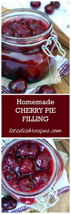 Cherry Pie Filling Or Black Forest cake ?!