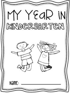 end of the year activities - Printable Kindergarten Books