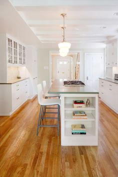 transitional kitchen by Amy Cuker, MBA, LEED AP
