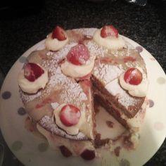 Wimbledon cake made by Elena Kohanoff - #glutenfree #cake #strawberry #Wimbledon #gf #glutenfreecake #coeliac #celiac #glutenfreeliving #zeroglutenbaker #wheatfree #glutenfreelife #glutenfreebaking #glutenfreefood #freefrom