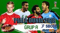 Prediksi Piala dunia Grup A yang akan lolos kebabak selanjutnya terdiri dari Negara Rusia,Arab Saudi,Mesir,Uruguay merebutkan 2 posisi teratas untuk mencari juara group A Piala Dunia 2018. Fifa, Sports, Hs Sports, Sport, Exercise