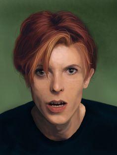 David Bowie by RosieFreakish.deviantart.com on @DeviantArt