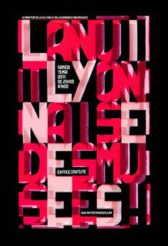 Denis Segalat, la nuit lyonnaise des musées, 2011