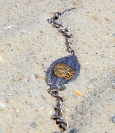 "It was the summer of 1994 and Suzan Abruzzi was at her usual haunt, Robert Moses State Park, Field ""We had a special spot that we always went to,"" she recalled recently. Metal Detecting Finds, Treasure Hunting, Metal Detector, Shipwreck, Lifeguard, Lost & Found, Diamond Pendant, Pendant Necklace, Cool Stuff"