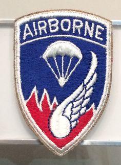 187th Regimental Combat Team Patch