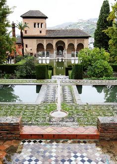 THE ALHAMBRA AND PARADOR DE SAN FRANCISCO, Andalusia, Spain - The moors ruled from the Alhambra until the Christians were victorious over them in 1492. It then became the palace for the Spanish rulers.  Besides the beautiful halls, are beautiful gardens with wonderful water features.  While in Granada, stay at the Parador de San Francisco which is in the Alhambra.  You do need to make reservations far in advance to stay in this popular Parador.