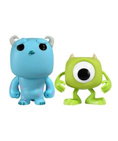 Take a look at this Sulley & Mike Pop! Figurine Set by Disney on #zulily today! $9 !!