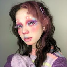 June Crees (@junecrees) • Instagram photos and videos Cute Makeup, Makeup Looks, Hair Makeup, Dyed Bangs, 90s Hairstyles, Aesthetic Makeup, Nyx Cosmetics, Hair Inspo, Pretty People