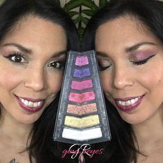 Today's live on my Facebook Gina Reyes.  Moodstruck Addiction Eyeshadow Palette 5 Mays Kudos 2017