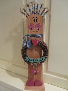 Hey, I found this really awesome Etsy listing at http://www.etsy.com/listing/94997753/welcome-porch-pal-wild-woman-cedar-fence