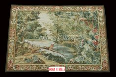 Free Shipping 4.9'X6.5' Handmade wool aubusson tapestry gobelin carpet, wall hanging tapestry wool tapestry paintings #Affiliate