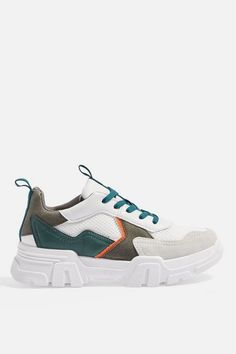 CASABLANCA Chunky Trainers - Shoes- Topshop USA How should the right shoe choice be? Tenis Casual, Casual Shoes, Topshop, Casablanca, Best Nursing Shoes, Tennis Clothes, Mode Online, Golf Shoes, New Shoes