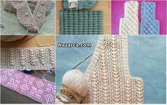 152 TANE TIĞ İŞLERİ VE ÖRGÜ TARİFLERİ Baby Knitting Patterns, Knitting Stitches, Crochet Baby, Kids Rugs, Crochet Hooks, Crochet Stitches Patterns, Art, Dots, Amigurumi