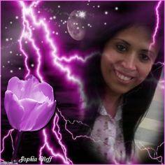 SN-Lightning With Purple Rose