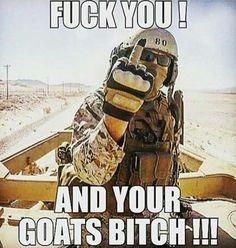 Hey Isis fuck you