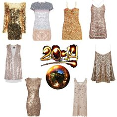 """New Year Disco"" by clothes-cm on Polyvore"