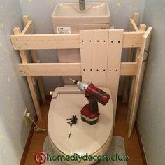Bath / toilet / DIY / toilet remodeling plan / tankless style / tankless DIY interior … – Do it yourself Diy Bathroom, Diy Interior, Interior, Home Diy, Diy Toilet, Pallet Diy, Toilet Design, Diy Furniture, Home Projects