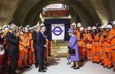 Crossrail, England: due mid-2022, over budget by $4.3 billion (£3.45bn) - Richard Pohle/The Times/PA Michael Moore, Princess Kate Middleton, Victoria, Prince Philip, Bond Street, Queen Elizabeth Ii, Norfolk, Line, Image