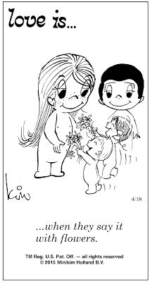 Pensamentos, Citações e Coisas do Género... Thoughts, Quotes and Those Sort of Things...: Amor é... quando o dizem com flores.