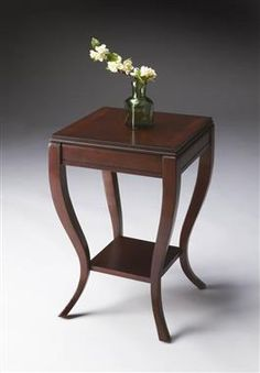 Plantation Cherry Wood Side Table