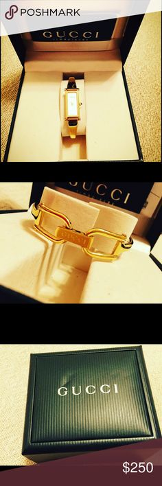 Authentic Gucci Watch Gucci Watch with a mother Perl. Great condition. Hardly wore it... Gucci Accessories Watches