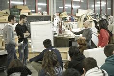 Designers and students at the second session of divanoxmanagua