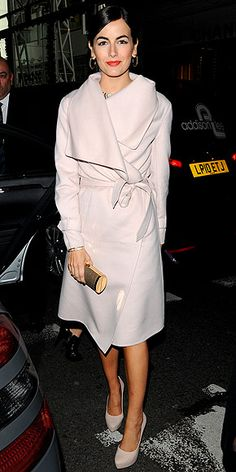 Camilla Belle's shawl-collared cream coat is really chic: http://www.peoplestylewatch.com/people/stylewatch/gallery/0,,20641298,00.html#