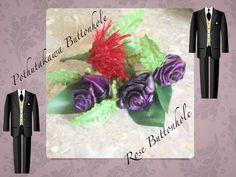Button Holes roses and pothutakawa