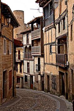 Spain. Streets of Frias. Burgos // Señor L, via Flickr