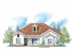 Eplans Mediterranean House Plan - An Energy Saver Plus Home - 1720 Square Feet and 3 Bedrooms from Eplans - House Plan Code HWEPL75177