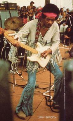 the great jimi hendrix--woodstock festival 1969