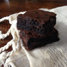 Chewy Bittersweet Brownies - such a good recipe!