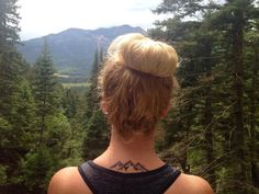 """Kathrine Moore on Twitter: """"New tattoo! The mountains are calling #mountainrangetattoo #mountains #mountaintattoo #mountainsarecalling #colorado ..."""