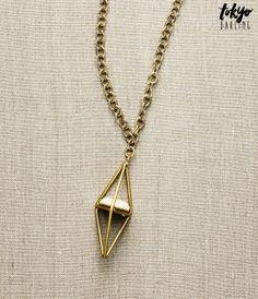 Tokyo Darling 3D Pendant Long-Strand Necklace - Aéropostale®