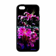 "iPhone case with image from my photo gallery, ""Flower Burst"""