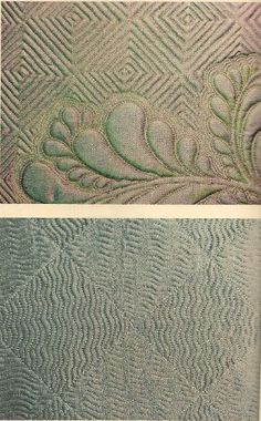 Grid fills for curving quilt designs (by Diane Gaudynski, from American Quilter magazine)
