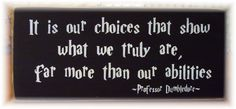 We could make a simple wood plaque like this (or with a different quote) at the party.  The girls could apply the vinyl to a painted wood board, not too difficult.