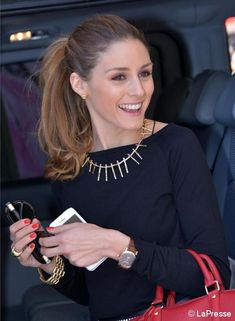 Olivia Palermo, Cannes - full and polished ponytail Estilo Olivia Palermo, Olivia Palermo Lookbook, Olivia Palermo Style, Fashion Mode, Fashion Beauty, Womens Fashion, Bon Look, Business Outfit, Her Style
